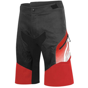 Alpinestars Predator Short Homme, black/red